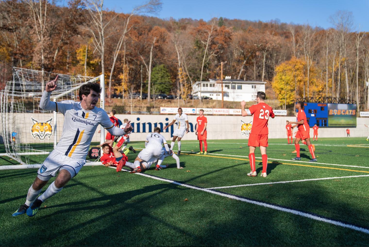 Quinnipiac men's soccer prevails in shootout vs. Marist, advances to MAAC Championship