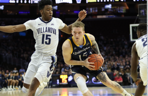 No. 9 Villanova handles Quinnipiac men's basketball, 86-53