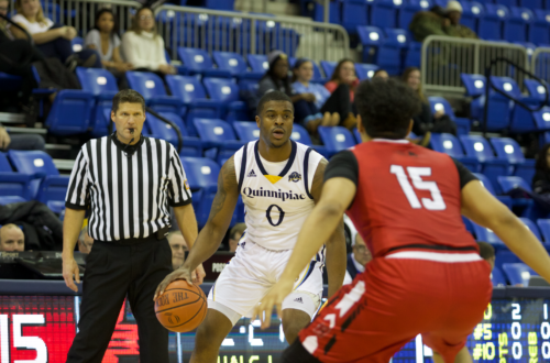 Quinnipiac+men%27s+basketball+drops+home+opener+to+Hartford%2C+68-54