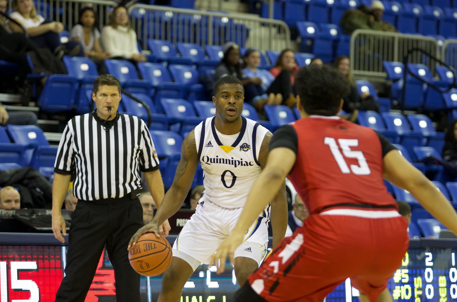 Quinnipiac men's basketball drops home opener to Hartford, 68-54