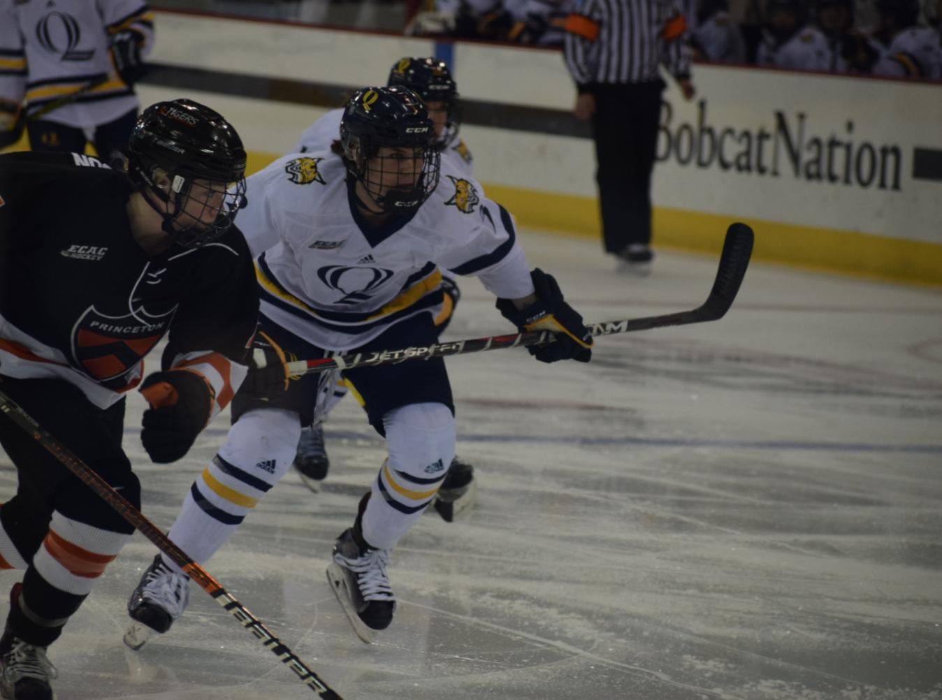 Quinnipiac women's ice hockey falls to Princeton again, 4-1