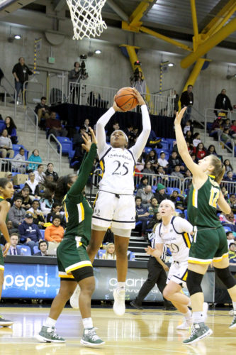 Quinnipiac women's basketball dominates Siena on College Experience Day