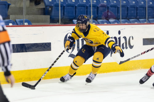 Quinnipiac women's ice hockey picks up shutout win over RPI