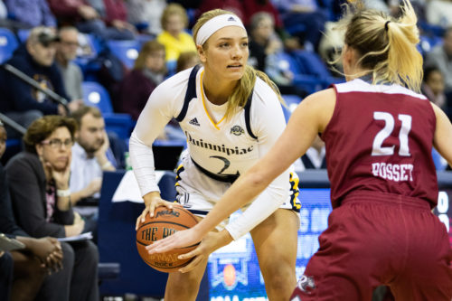 Quinnipiac women's basketball takes down Rider on Super Bowl Sunday