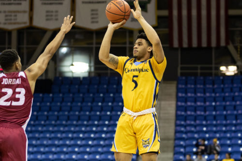Quinnipiac men's basketball comes from behind and picks up overtime win over Rider