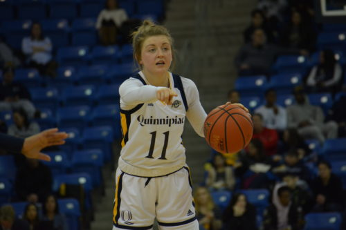 Quinnipiac+women%27s+basketball+celebrates+Senior+Day+with+a+win+over+Canisius