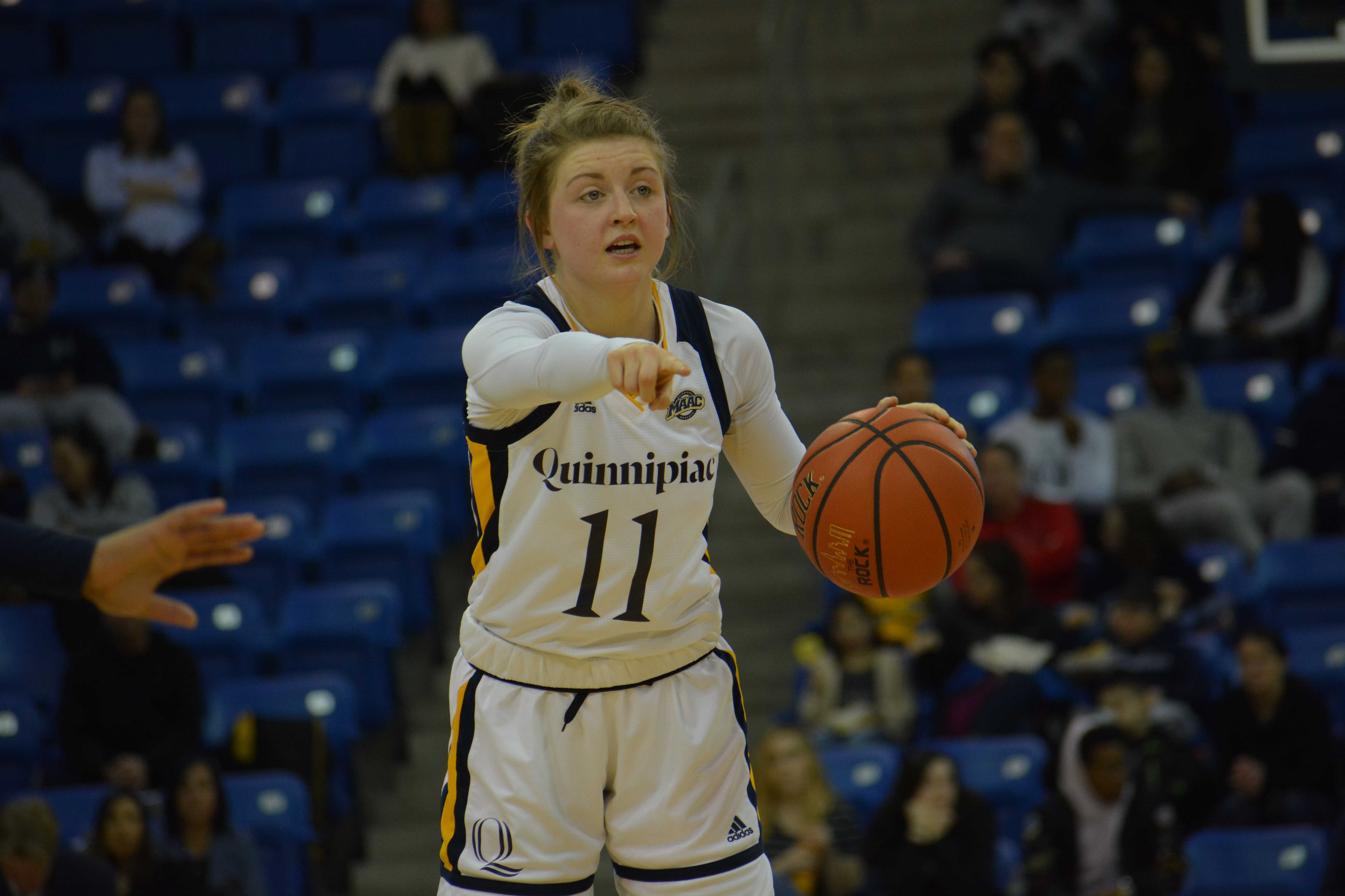 Quinnipiac women's basketball celebrates Senior Day with a win over Canisius