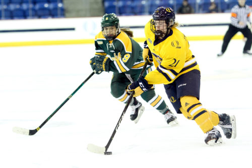 Quinnipiac women's ice hockey comes up short against No. 5 Clarkson