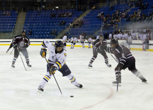 Quinnipiac women's ice hockey dominates Union on Senior Day