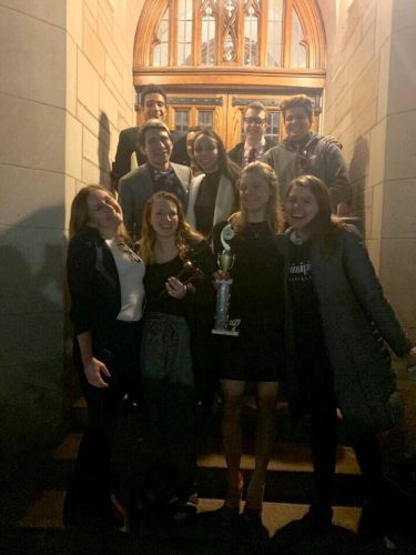 Quinnipiac Mock Trial team advances to championship in Boston