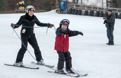 Breaking barriers on the slopes