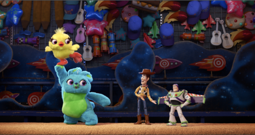 Sneak 'Peep' of Toy Story 4