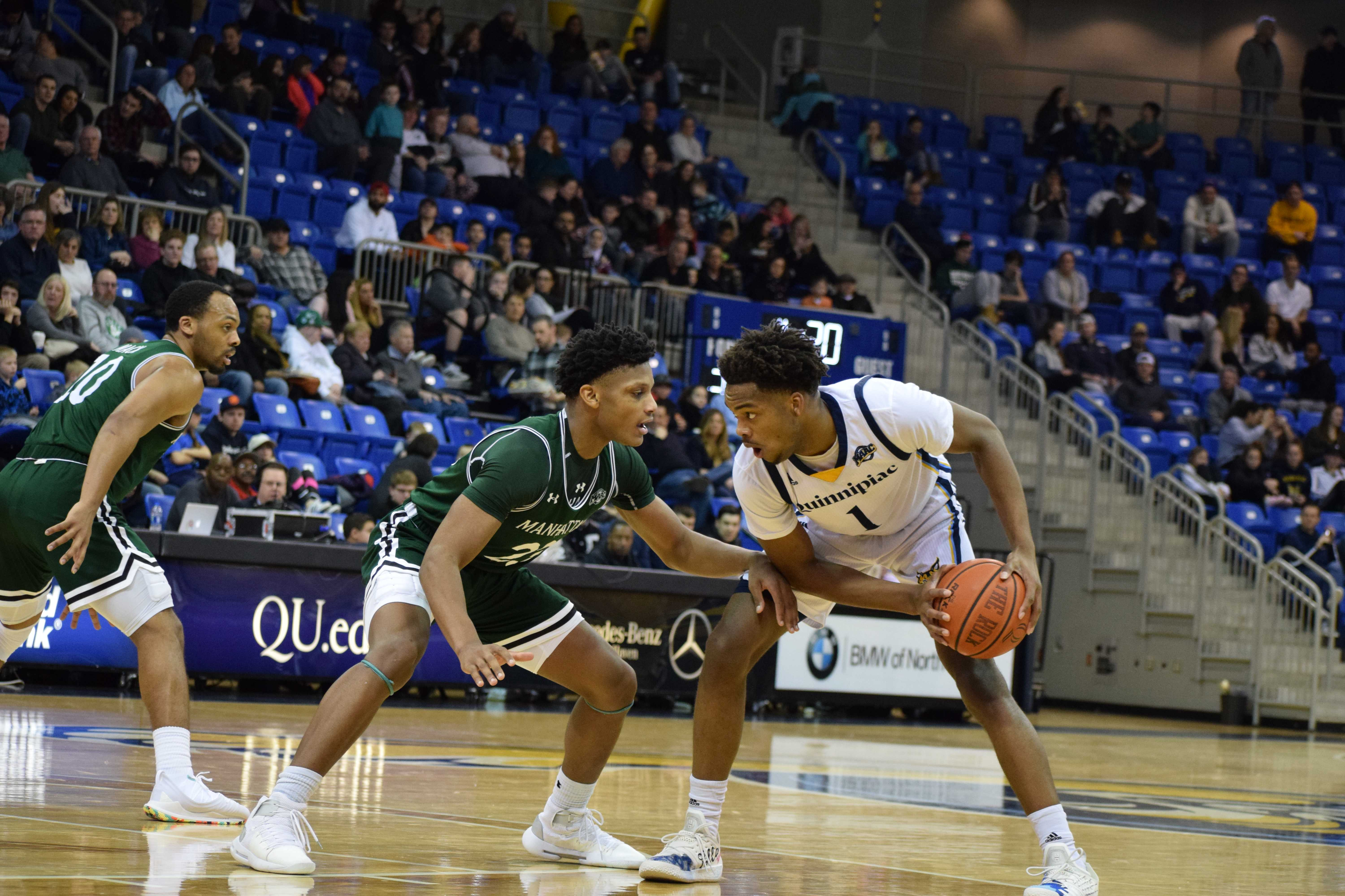 Quinnipiac men's basketball falls in final regular season game