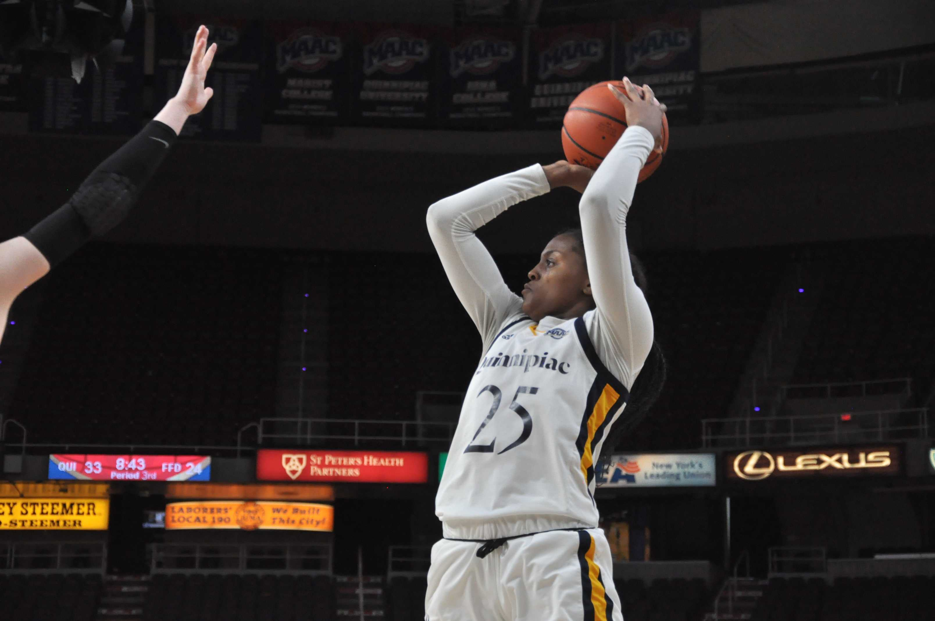 Quinnipiac women's basketball moving on after win over Fairfield