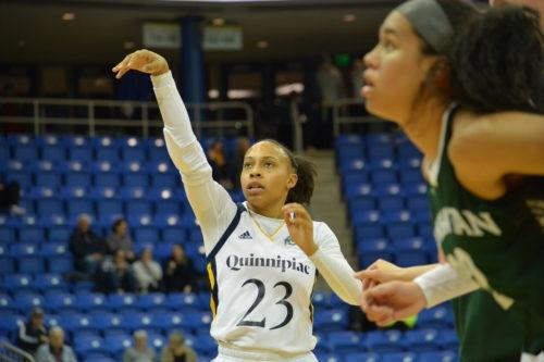 Martin's career-high 20 points leads Quinnipiac women's basketball over Manhattan
