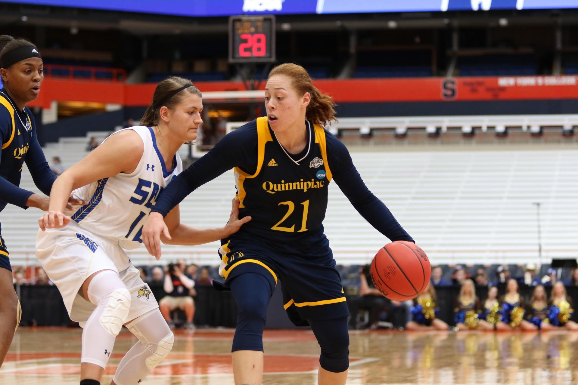Quinnipiac women's basketball closes season with first round loss in NCAA Tournament
