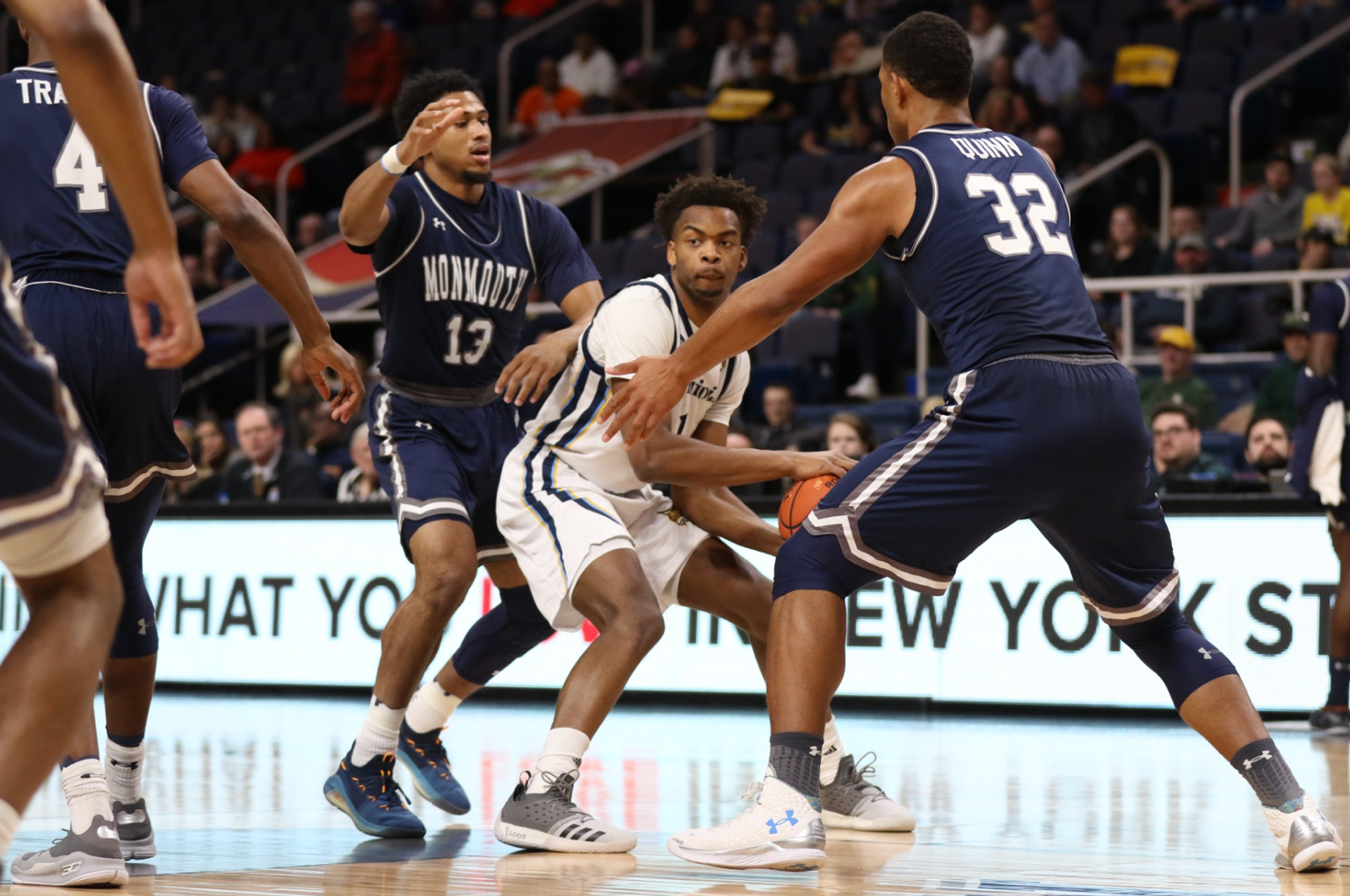 Quinnipiac men's basketball ends season with loss to Monmouth