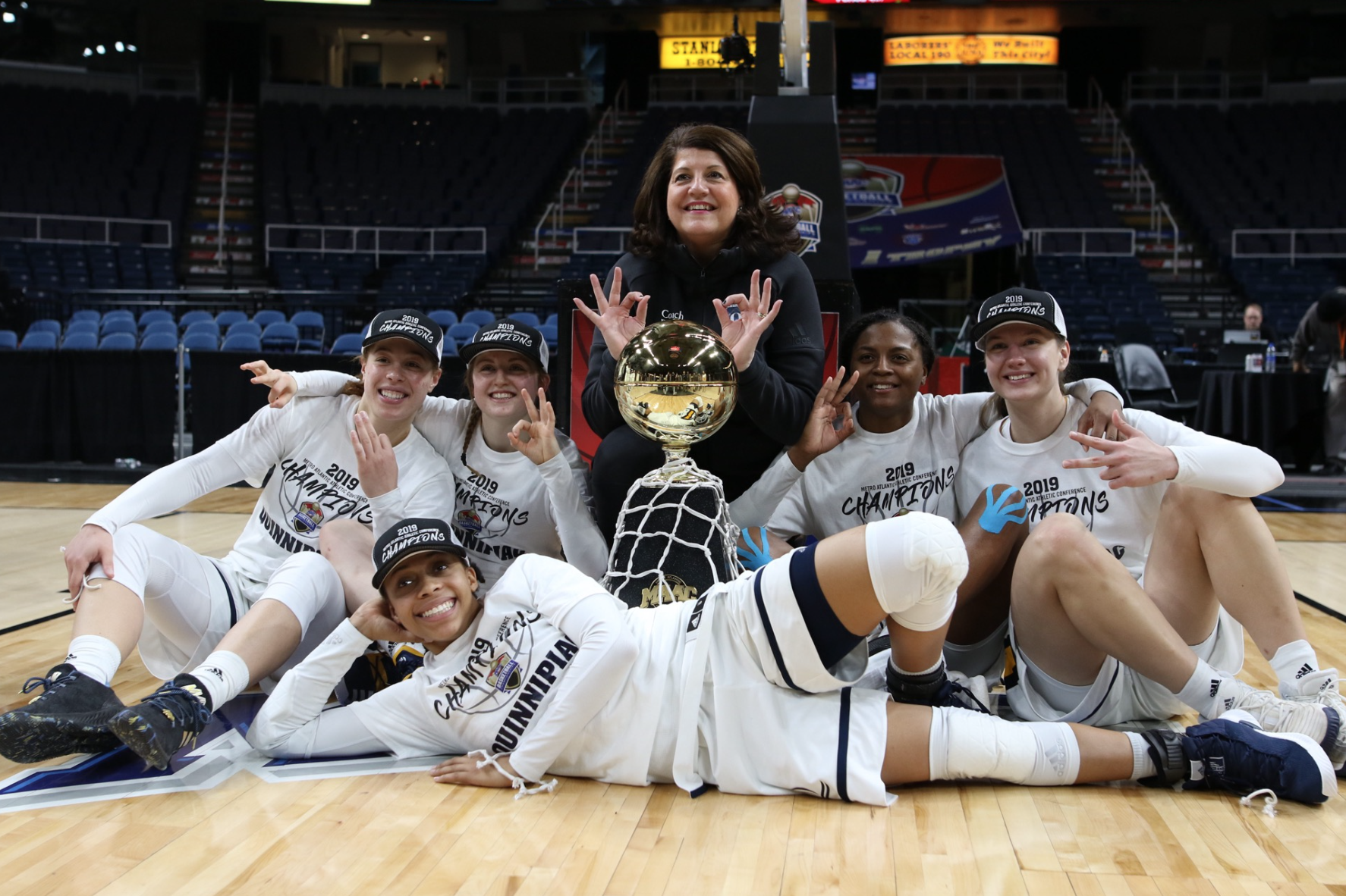 TRICIA'S TRILOGY: Quinnipiac women's basketball wins third straight MAAC title