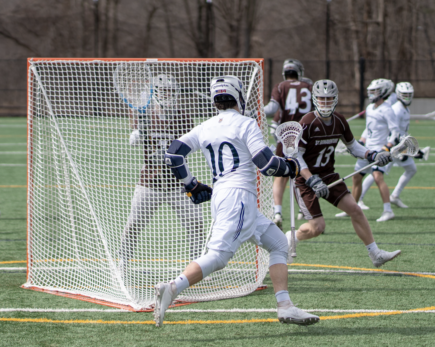 Quinnipiac men's lacrosse makes it five straight wins by taking down St. Bonaventure