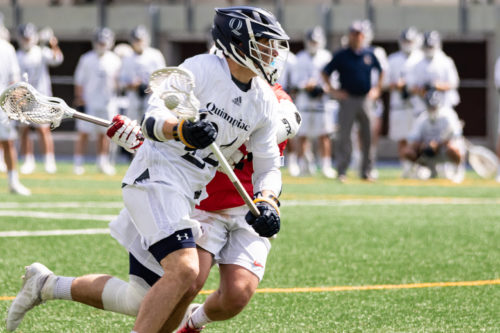Quinnipiac men's lacrosse defends home turf on senior day against Monmouth
