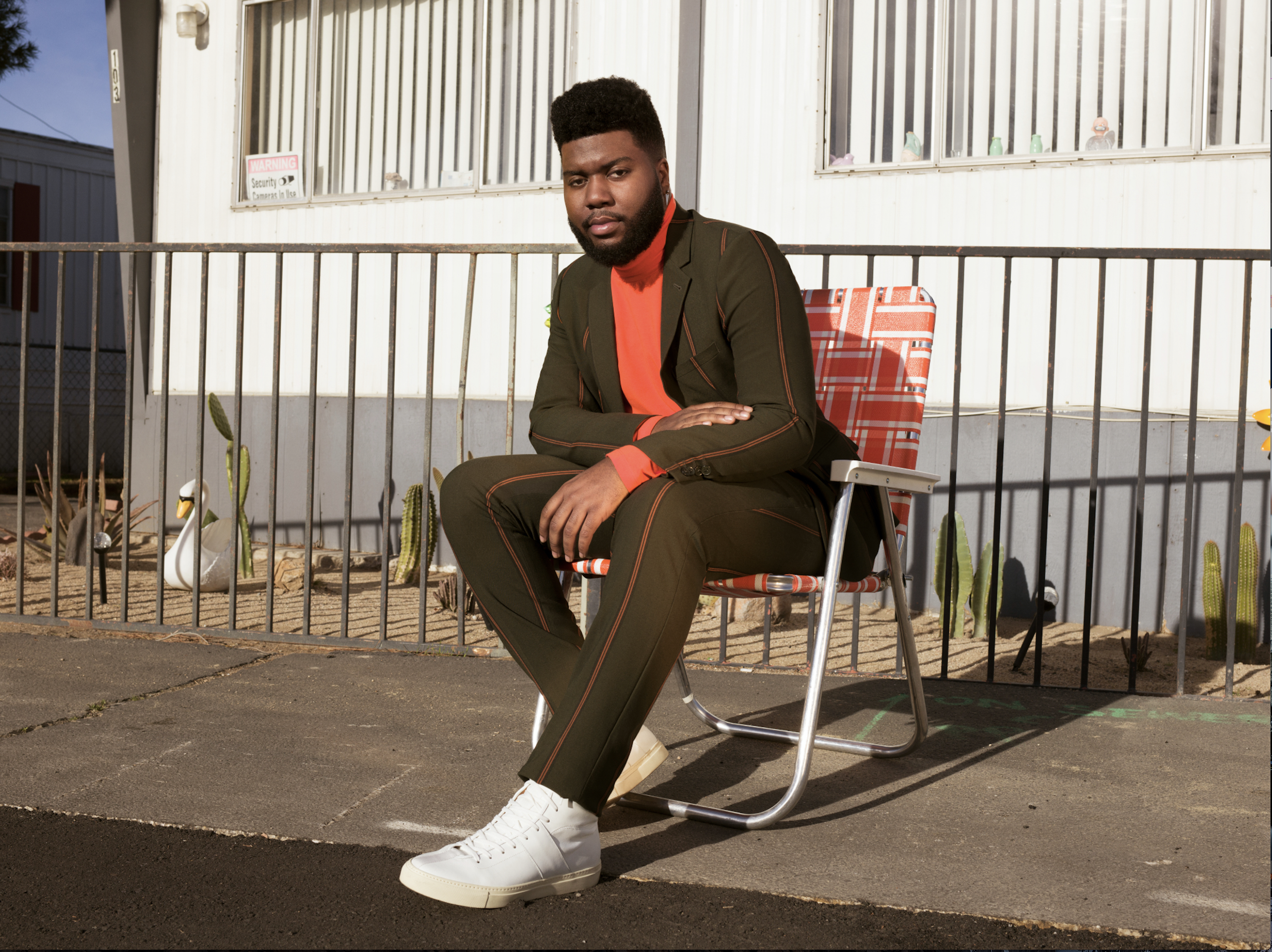 Let's 'Talk' about Khalid's new album
