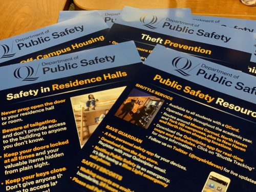 New+safety+posters+to+be+displayed+around+campus