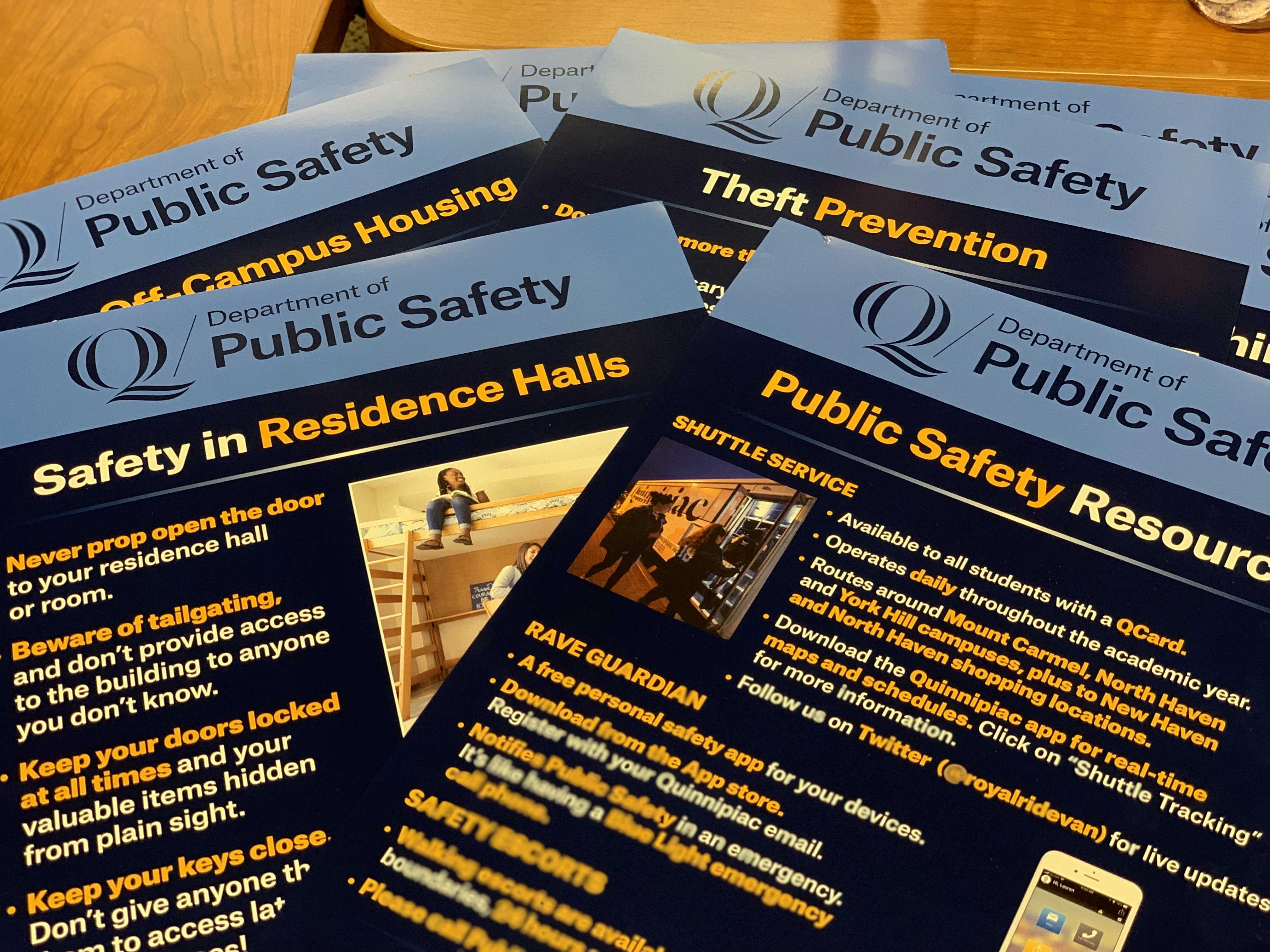 New safety posters to be displayed around campus