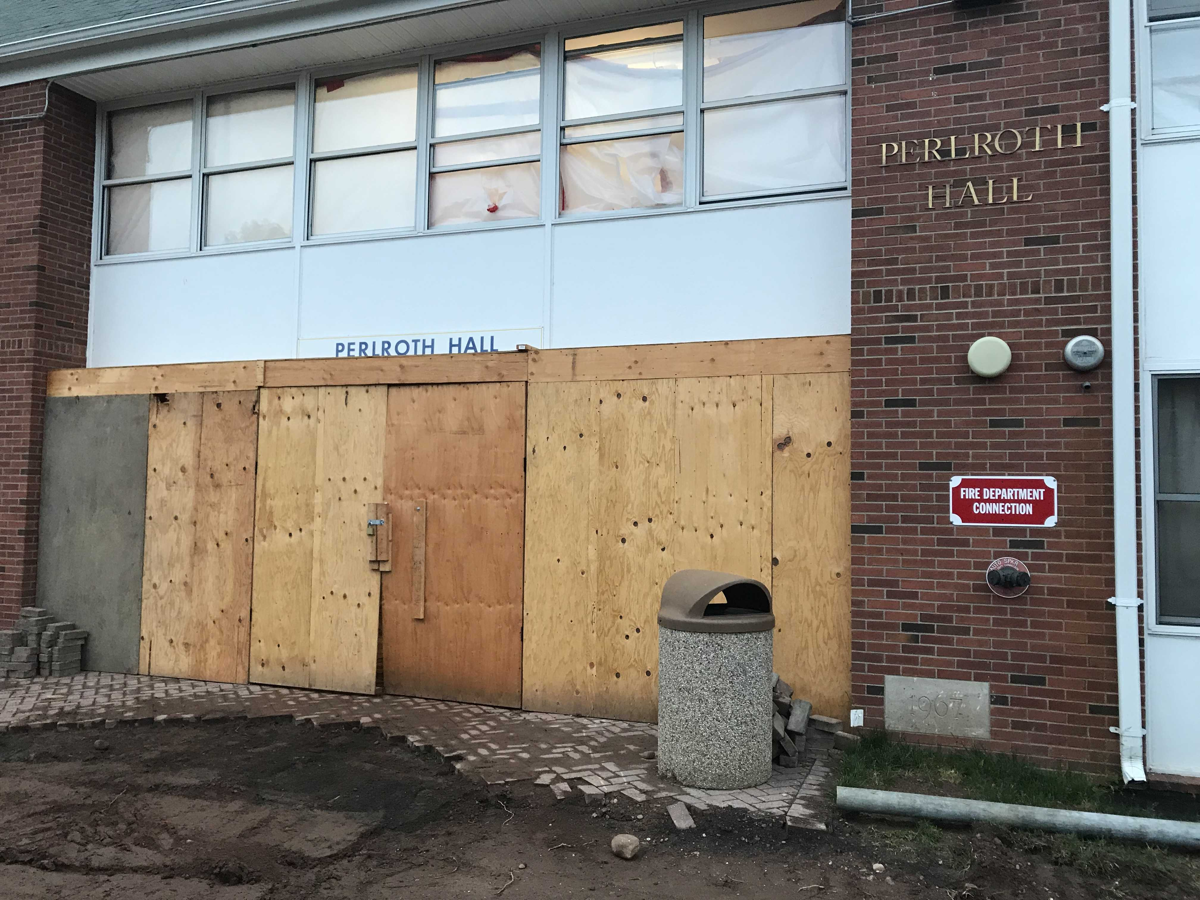 Perloth will not be housing students in the upcoming school year as planned due to asbestos removal.