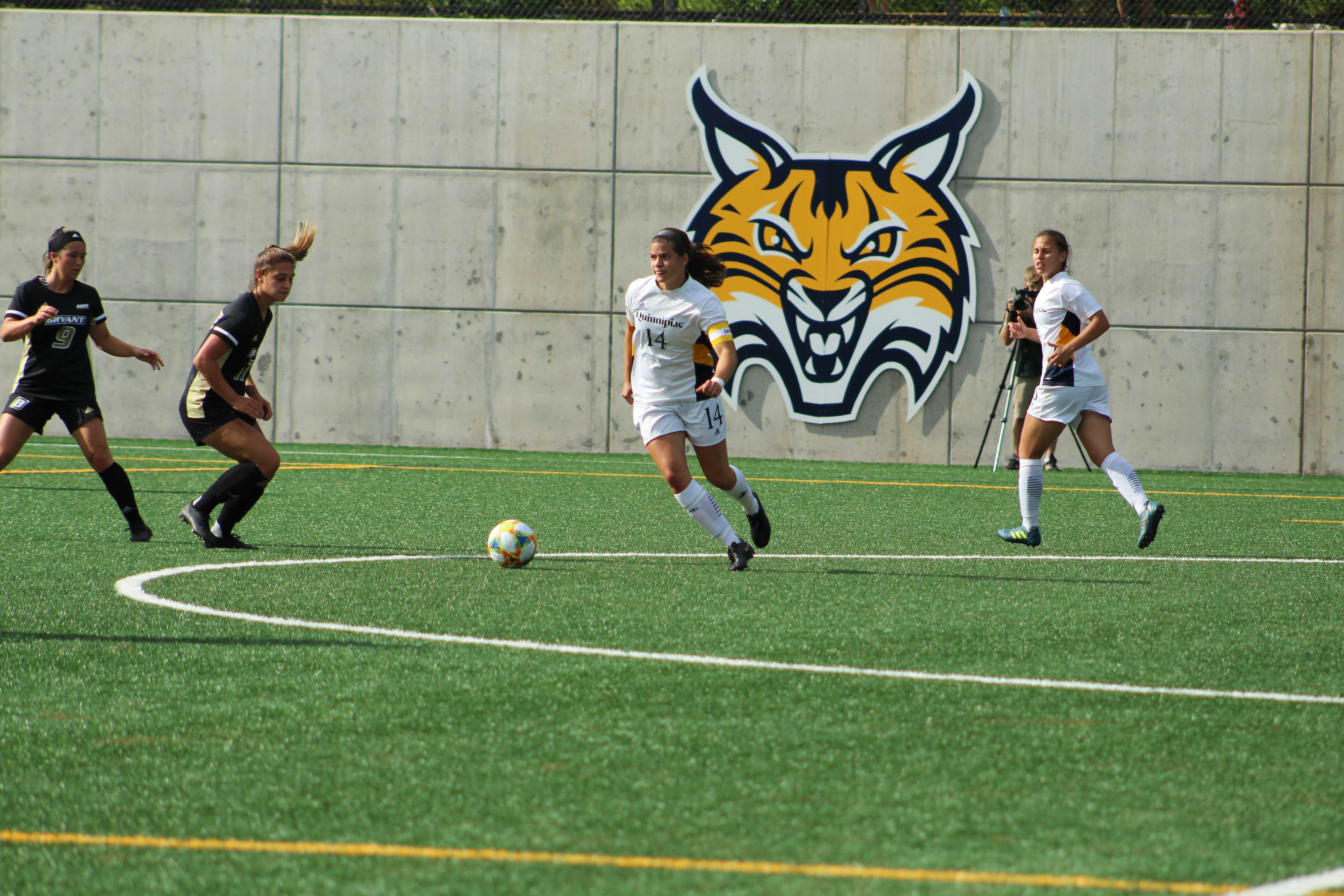 Women's soccer starts season with a home win