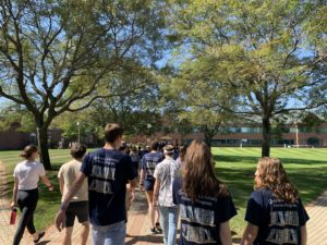 More than 200 apply for orientation leader