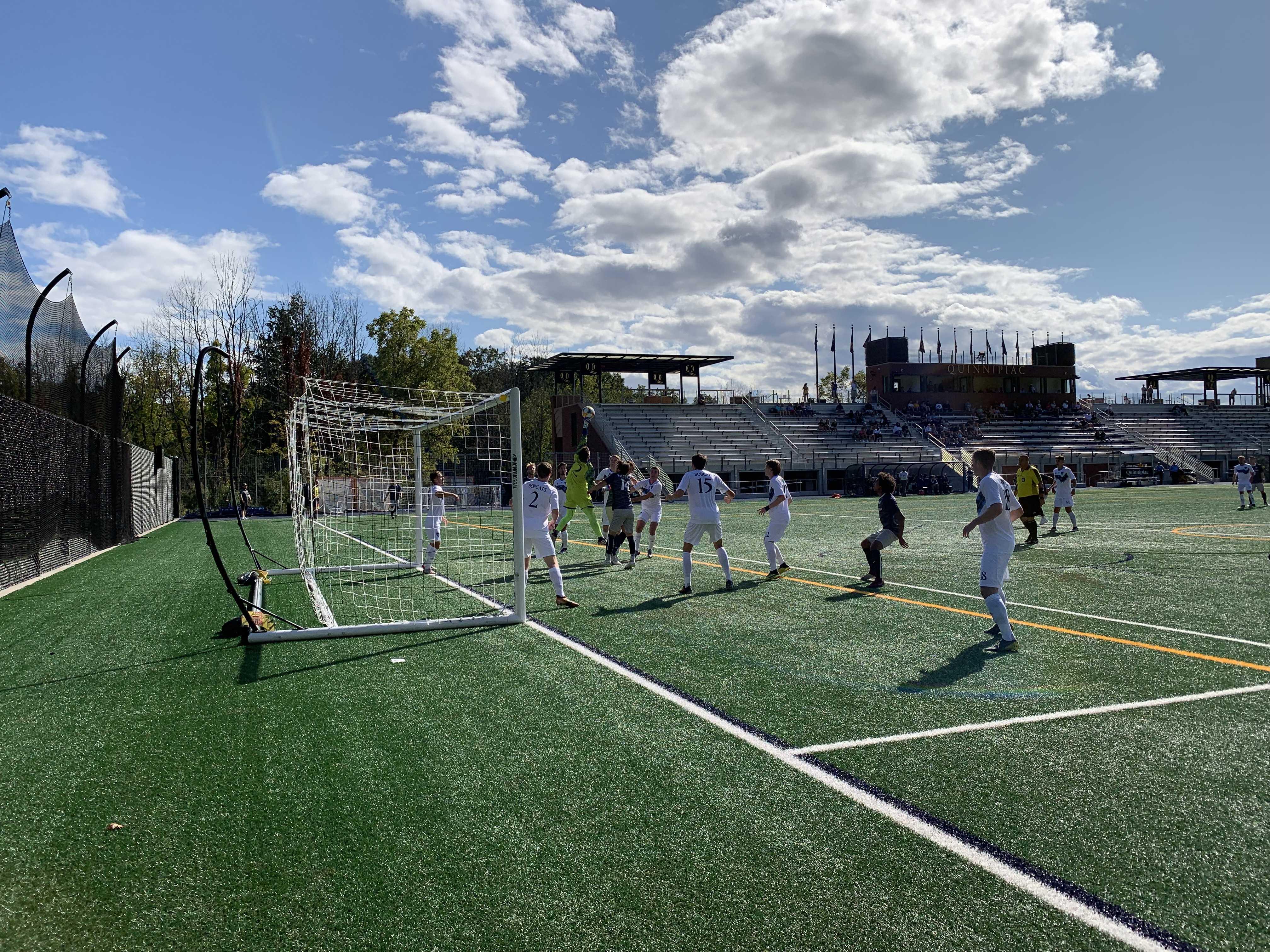 Quinnipiac men's soccer flops against No. 18 New Hampshire
