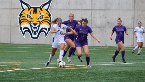 Bobcats shut out Niagara on Senior Day