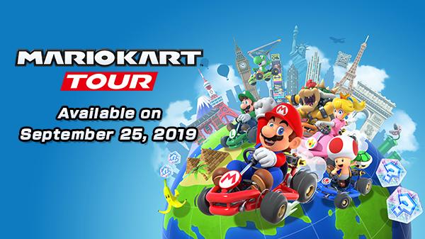 Mario Kart goes mobile