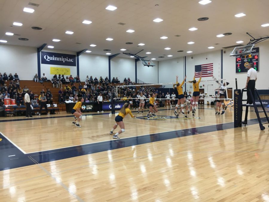 Quinnipiac volleyball wins fourth MAAC game of the season