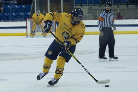 A strong third period helps Quinnipiac outlast St. Lawrence