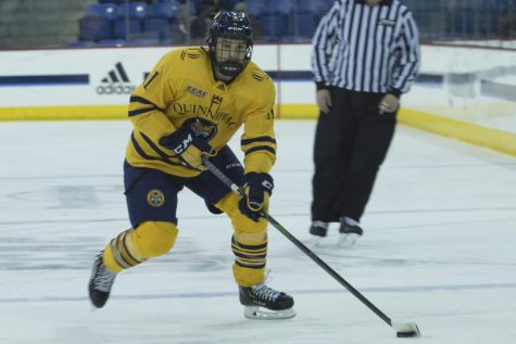 Quinnipiac men's ice hockey blanked by UMass 3-0