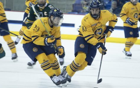 Quinnipiac men's ice hockey shuts out Vermont