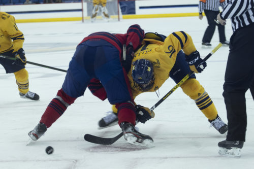 Quinnipiac men's ice hockey opens up season with chaotic 4-4 deadlock