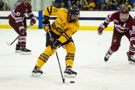 Odeen Tufto scores his first goal, Quinnipiac sweeps the weekend