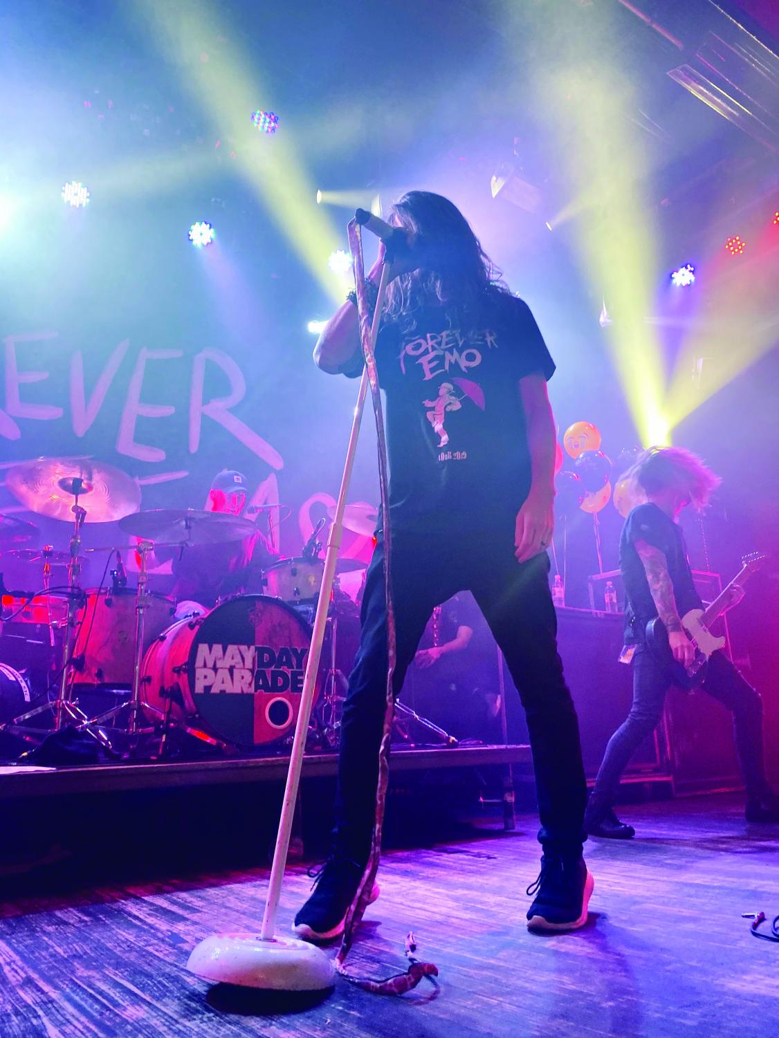 Mayday Parade started its 'Forever Emo' tour in Athens, Georgia, on Nov. 1.