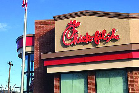 Sororities and other student organizations have invited Chick-fil-A to campus for fundraisers.