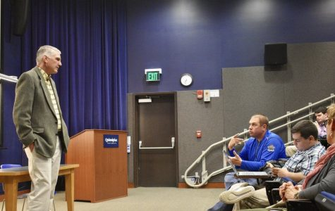 The Quinnipiac Republicans invited Jay Kaye to campus on Oct. 30, as an opportunity for students to ask him questions.