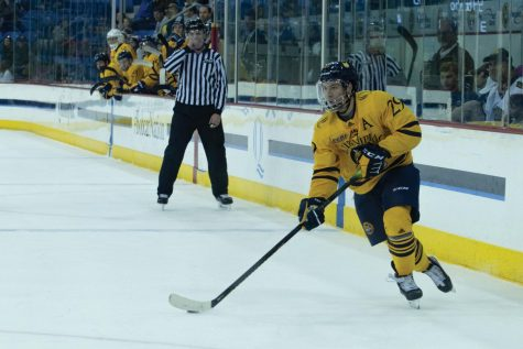 Women's ice hockey earns first victory under Turner