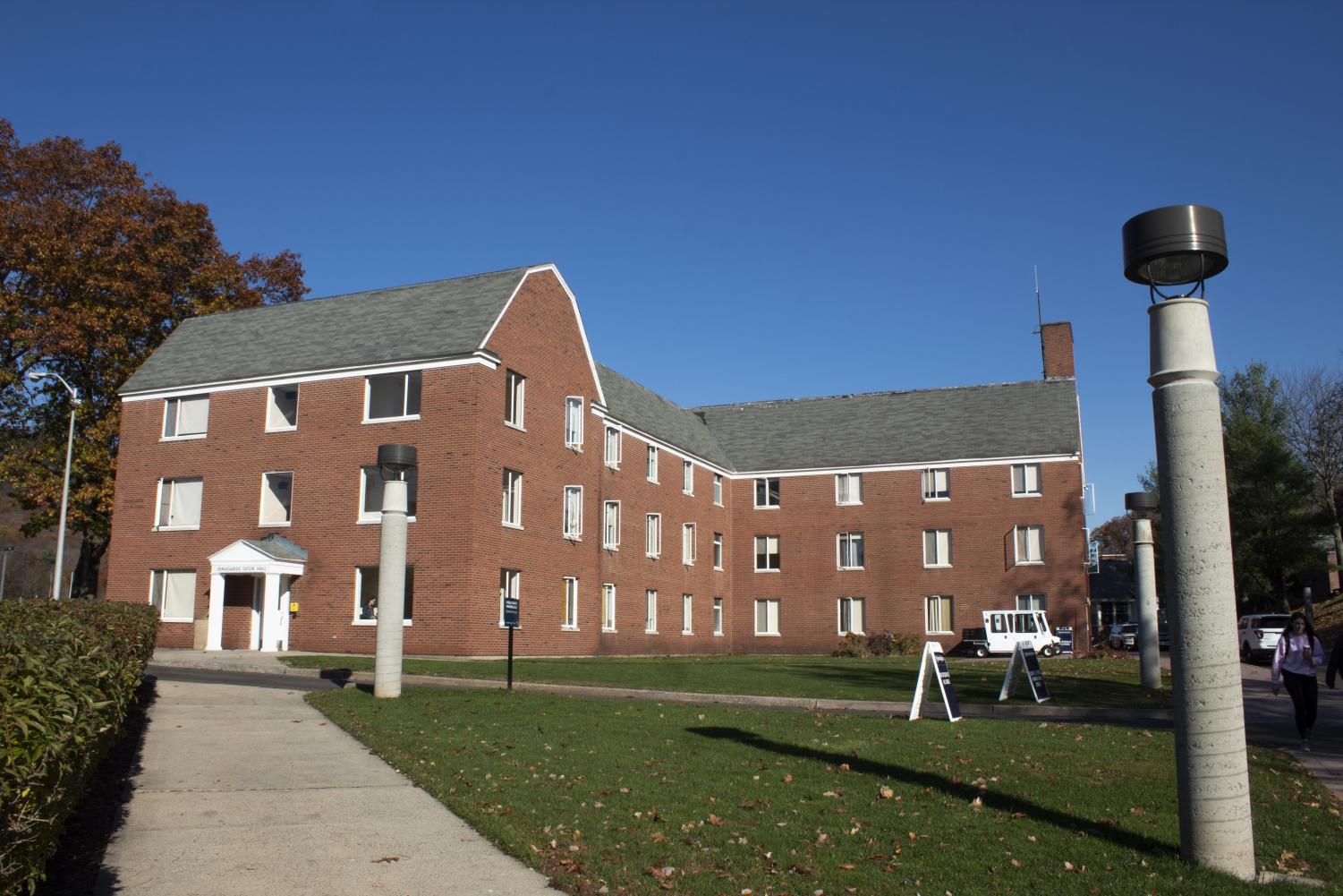 Dana English Hall may be torn down or renovated in the new master plan