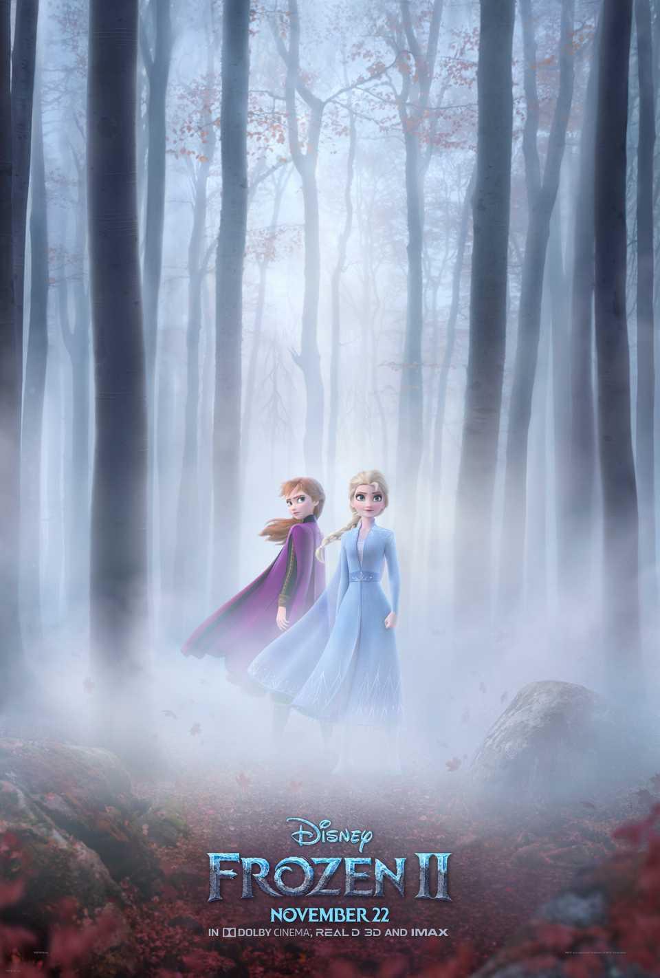 'Frozen 2' was released in theaters on Nov. 22.