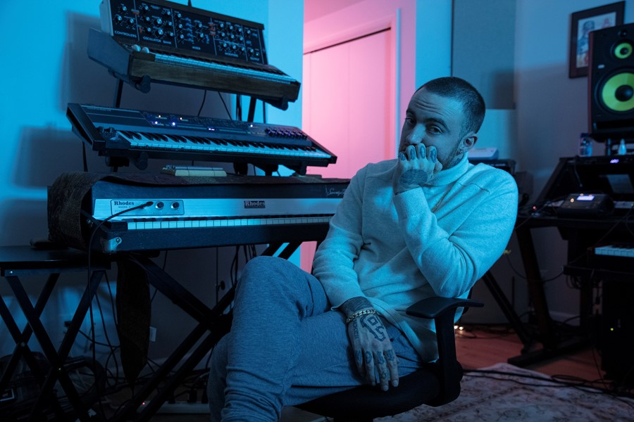 Mac Miller's album, 'Circles,' received a 7.4 out of 10 rating from Pitchfork.