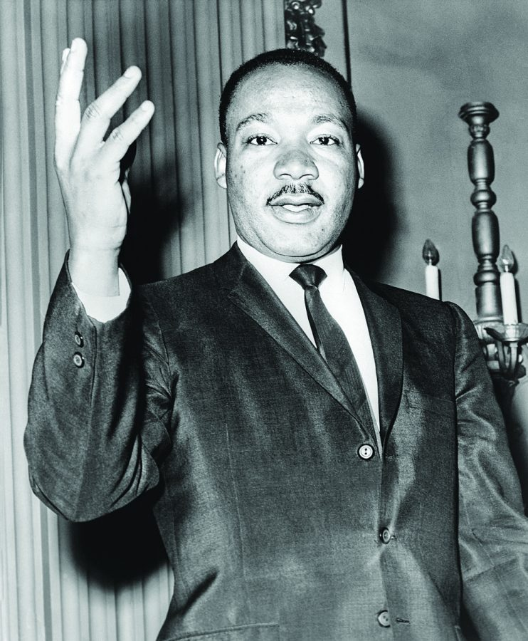 Martin Luther King Jr. was an American Christian Minister and leader during the Civil Rights Movement.