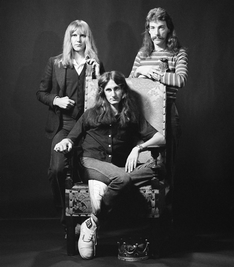 Neil Peart joined the band, Rush, in 1974 and helped his bandmates, Alex Lifeson and Geddy Lee, release 18 albums.