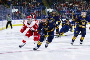 Quinnipiac falls to Sacred Heart in Connecticut Ice final