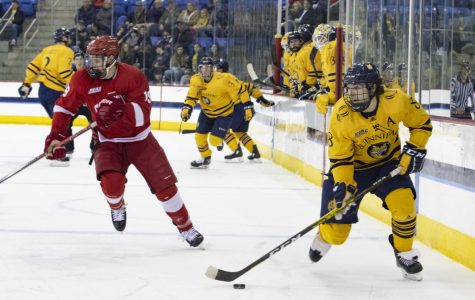Quinnipiac men's ice hockey shuts out No. 1 Cornell at home